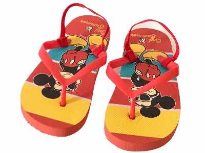 Mickey Mouse Flip Flops Sandals Shoes - Glo Selections Kids Shoes
