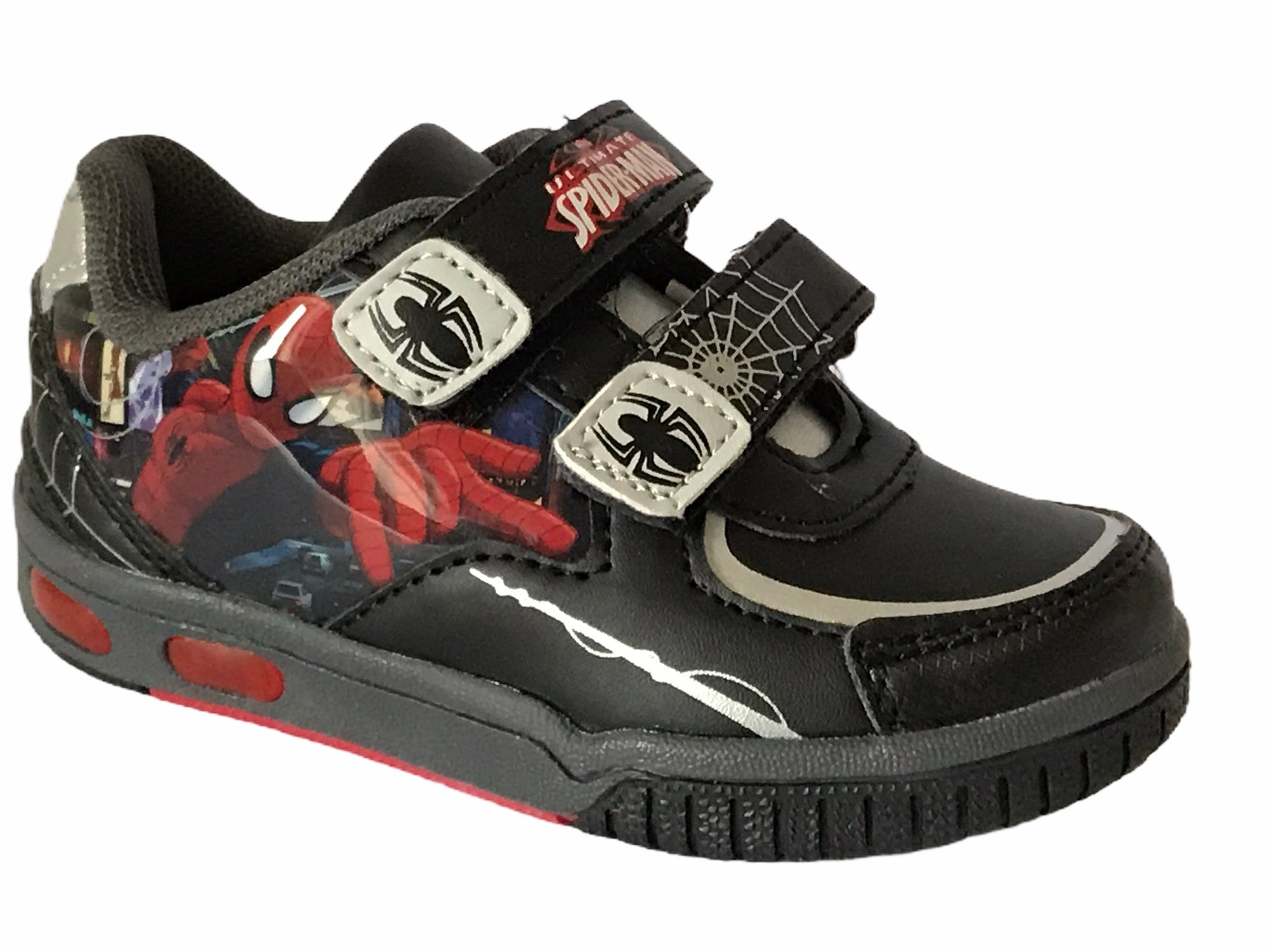 Marvel Ultimate Spiderman Trainers - Glo Selections Kids Shoes