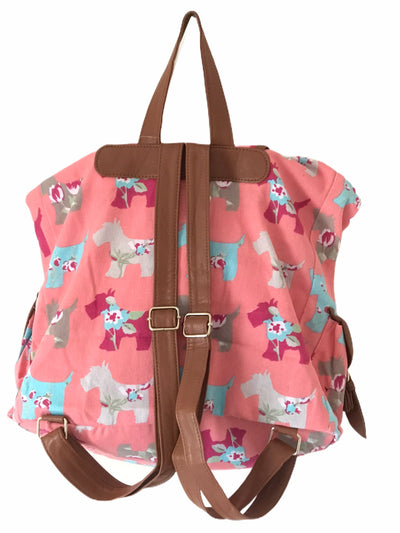 Pink Dogs Design Backpack Bag - Glo Selections Kids Shoes