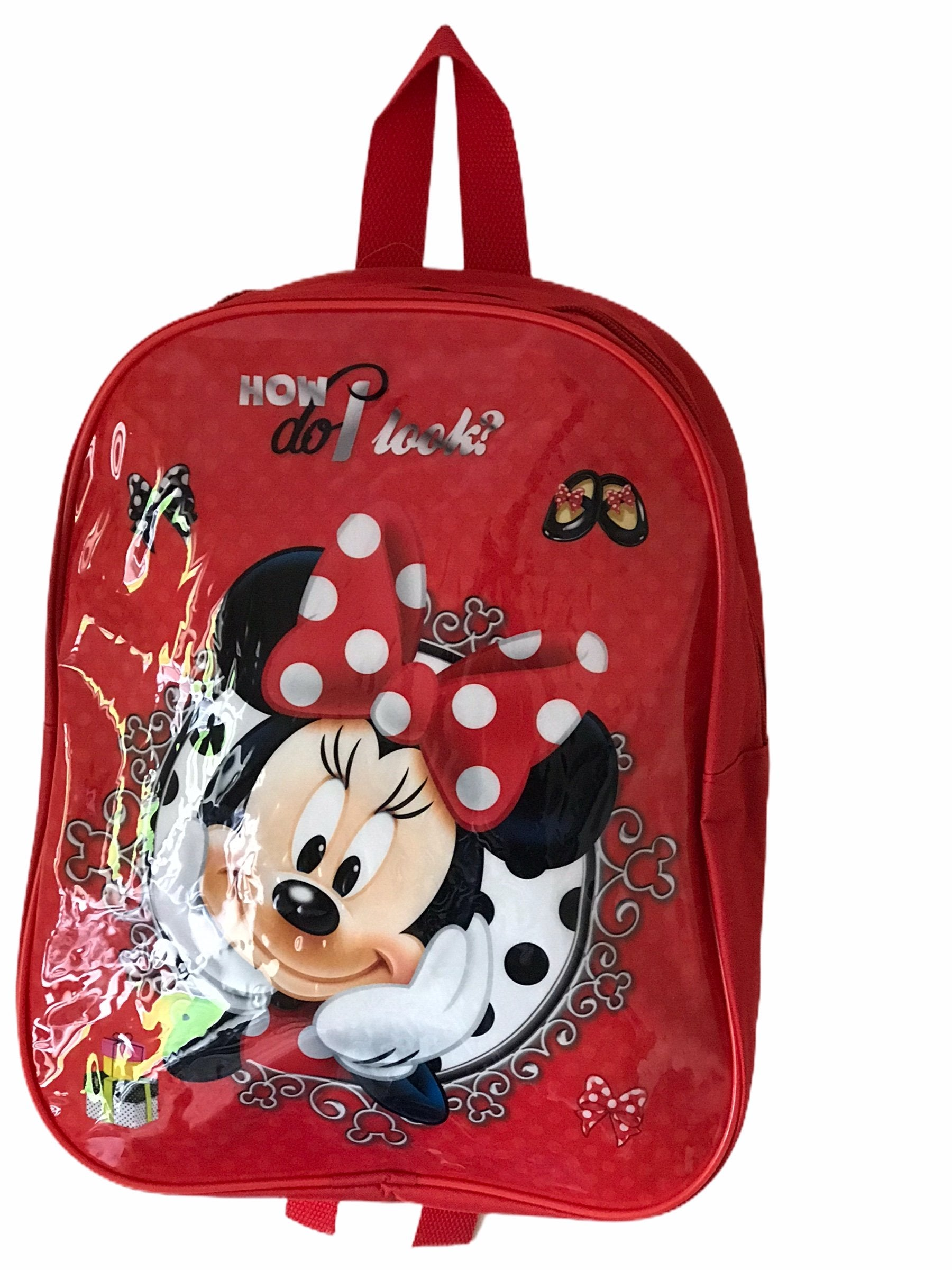 Girl Minnie Mouse Backpack Bag