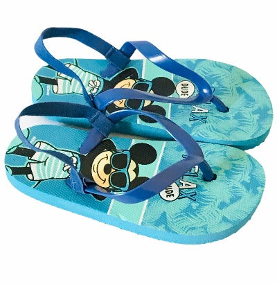 Mickey Mouse Flip Flops Sandals - Glo Selections Kids Shoes