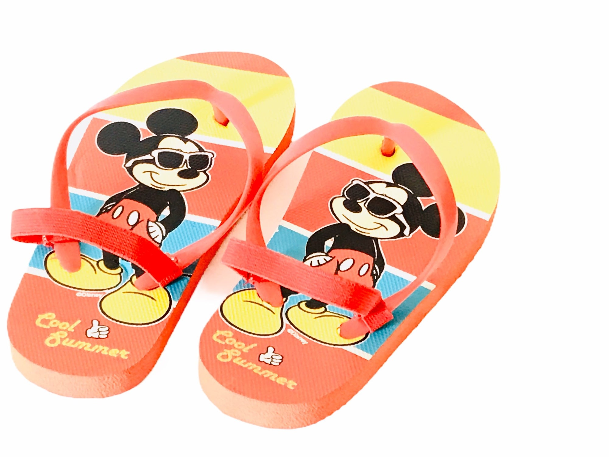 Mickey Mouse Flip Flops Sandals Shoes