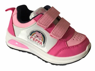 Girls' Sports Lights Peppa Pig Toddler & little Kids Trainers
