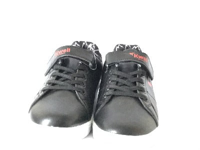 Kwell Black Trainers Shoes - Glo Selections Kids Shoes