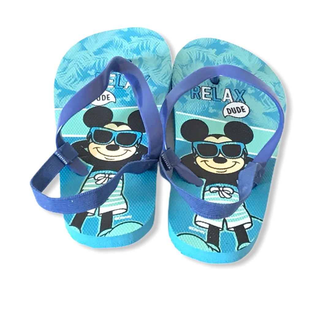 Mickey Mouse Flip Flops Sandals