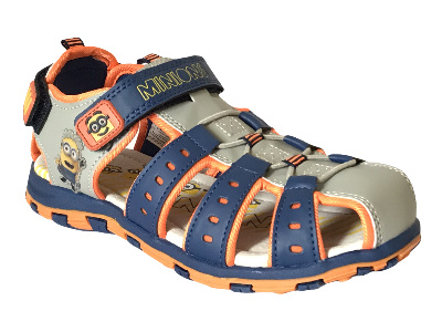 KIDS DESPICABLE ME MINIONS LIGHT WEIGHT SANDALS