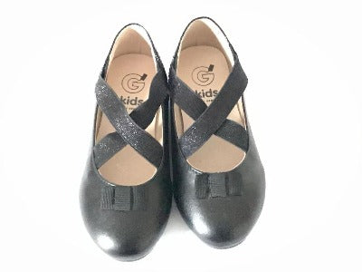Girl Black Dress  Shoes - Glo Selections Kids Shoes