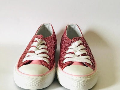 Rose Pink Trainers - Glo Selections Kids Shoes