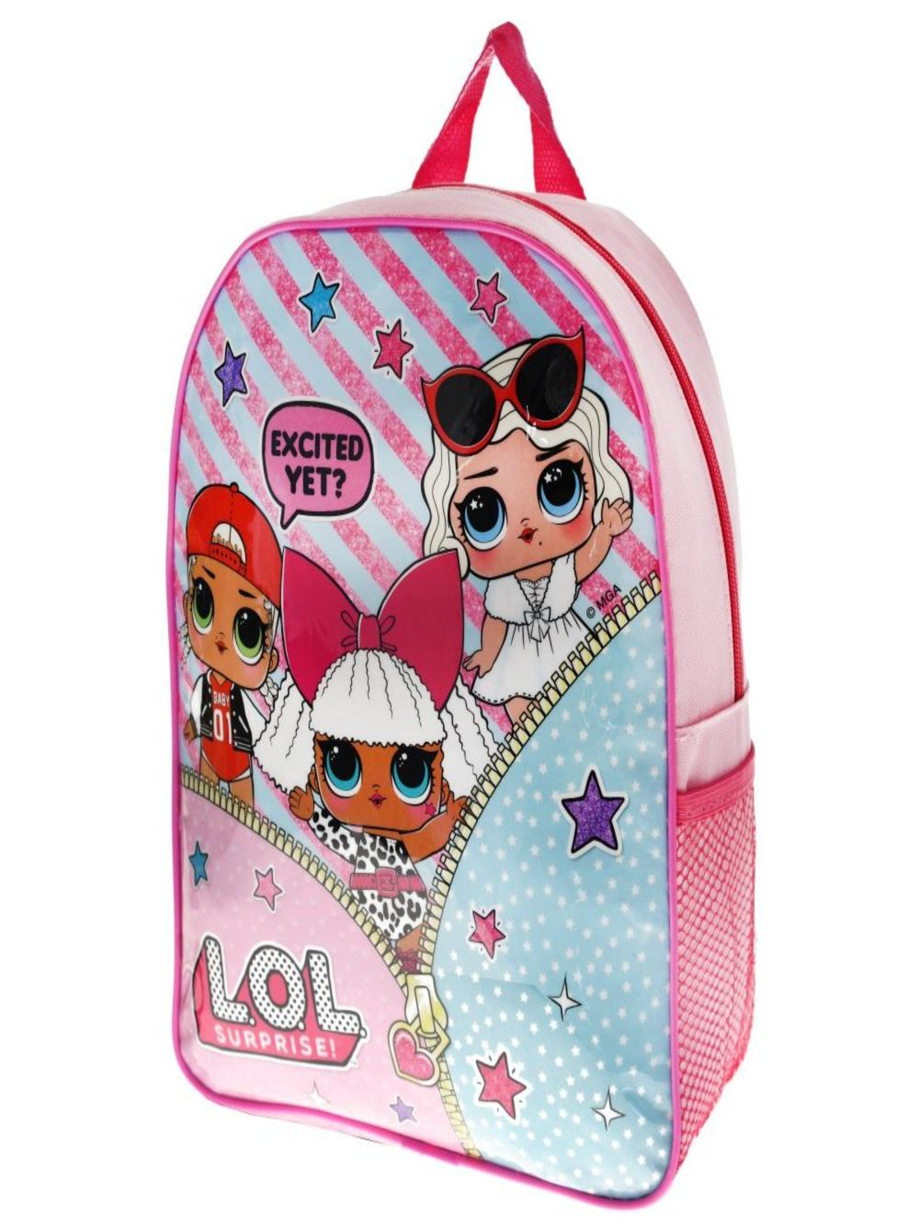GIRL L.O.L SURPRISE BACKPACK SCHOOL BAG