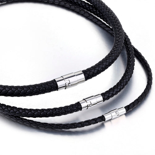 Men's Leather Necklace - Mercentury