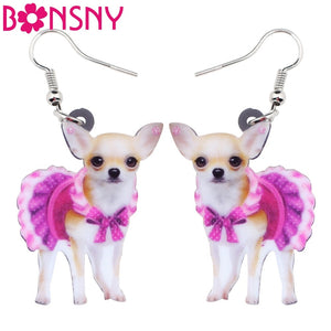 Women Chihuahua Earrings - Mercentury