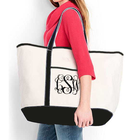 Large Canvas Tote - FREE SHIPPING!