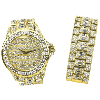 MONARCH Bling Master Watch Set | 530112
