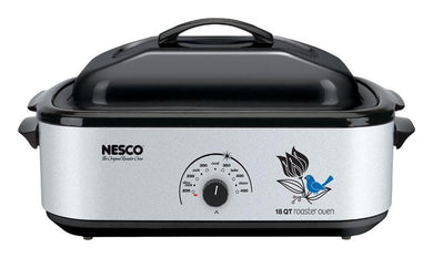Nesco  Stainless Steel  18 qt. Roaster Oven  16.5 in. H x 8.5 in. W x