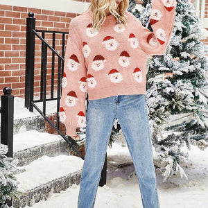 Women Christmas Knitted sweater