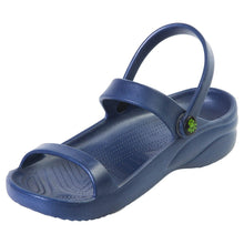 Load image into Gallery viewer, Women's 3-Strap Sandals - Navy