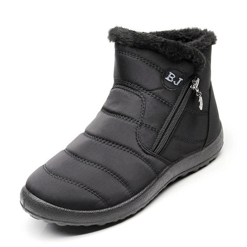Plus Size 43 Women Boots Waterproof Snow Boots