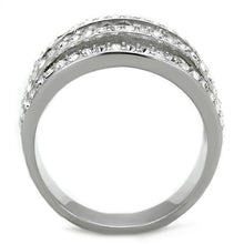 Load image into Gallery viewer, Women Stainless Steel Synthetic Crystal Rings