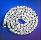 Load image into Gallery viewer, ROCK 4 MM One Row Tennis Chain | 960011
