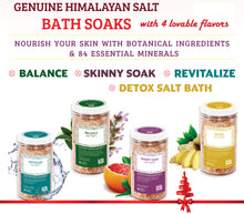 Load image into Gallery viewer, Salt Skill - Natural Himalayan Soaking Bath Salts Detox 32 OZ