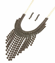Load image into Gallery viewer, Beads Drop Necklace Set