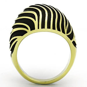 TK1037 IP Gold(Ion Plating) Stainless Steel Ring