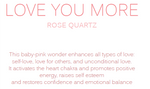 Load image into Gallery viewer, LOVE YOU MORE - Rose Quartz Tumbled Crystal Bracelet