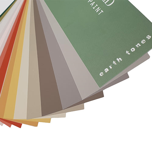 "Designers Guild Farbfächer ""Earth Tones Fan Deck"""
