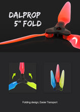 "Load image into Gallery viewer, Dalprop Fold Series 5.1"" Folding Propellers"