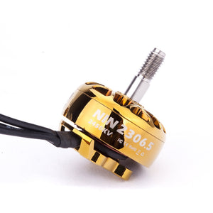 FLYWOO NIN PLUS N2306.5 2306.5 2-6S FPV MOTOR Brushless for RC 2450KV ( GOLD)