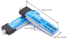 Load image into Gallery viewer, BETAFPV 1S Lipo 550mAh HV Battery