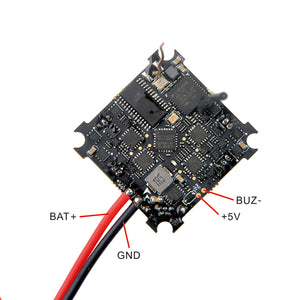 Happymodel Crazybee X V1.0 F4 OSD Flight Controller 1-2S AIO 5A BL_S 4in1 ESC & 40CH 25mW VTX & Compatible Frsky D8/D16 RX for Whoop RC Drone FPV Racing