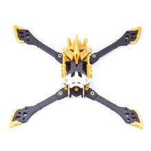 Load image into Gallery viewer, FLYWOO VAMPIRE-2 HD 5'' Racing freestyl frame Kit Gold