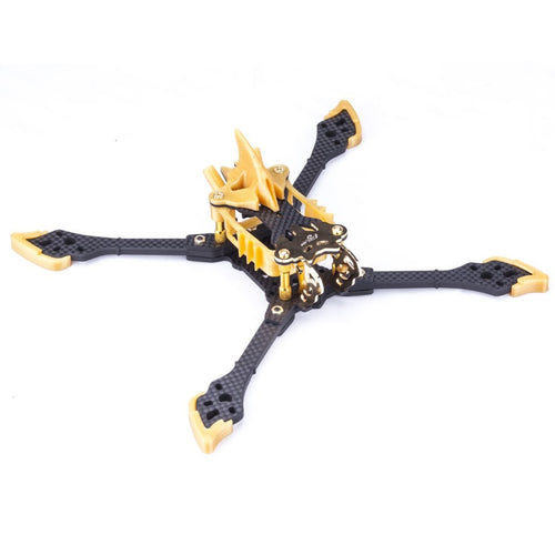 FLYWOO VAMPIRE-2 HD 5'' Racing freestyl frame Kit Gold