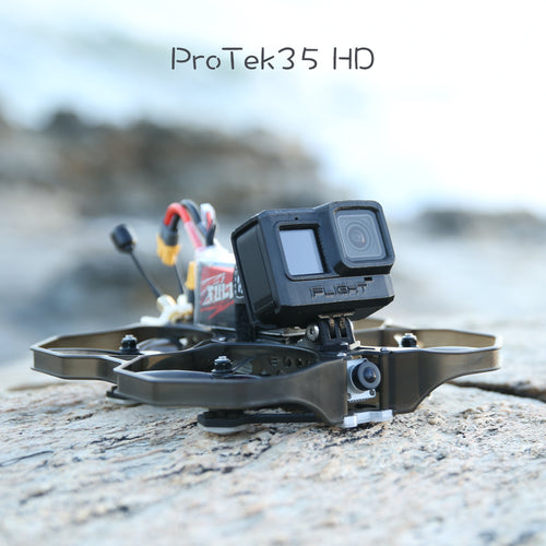 iFlight ProTek35 HD CineWhoop w/ DJI Air Unit - BNF- Crossfire nano (yellow)