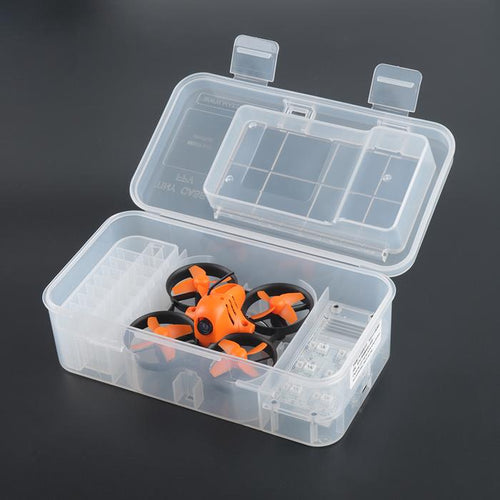 Makerfire Tiny Carrying Case Whoop Storage Box with 1S LiPo Charger