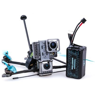 Explorer LR HD TBS NANO receviver 4'' Micro Long Range FPV Ultralight Quad without Caddx Vista HD System