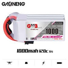 Load image into Gallery viewer, Gaoneng 14.8V 1100mAh 130C 4S XT30 Plug Lipo Battery for RC Racing Drone