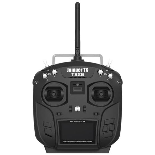 RadioMaster TX8/JumperTX T8SG 2.4G 12CH Hall Gimbal Open Source Multi-protocol Mode1/2 Transmitter for RC Drone ka