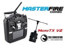 Load image into Gallery viewer, RadioMaster TX16S Hall Sensor Gimbals + TBS crossfire 2.4G 16CH Multi-protocol RF System OpenTX Mode2 Transmitter plus crossfire modulefor RC Drone - Mode 2 (Left Hand Throttle)