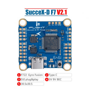 Iflight SucceX-D F7 V2.1 TwinG Flight Controller