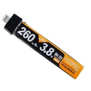 Copy of Crazepony (1 ก้อน)260mAh HV 1S LiPo Battery 30C 3.8V for Tiny Whoop Blade Inductrix JST-PH 2.0