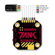 Load image into Gallery viewer, RUSH TANK ULTIMATE MINI 5.8GHZ 20X20 VTX