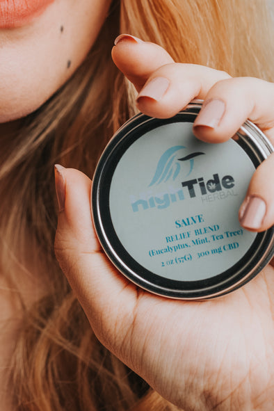 Relief Hemp Salve - High Tide Herbal ™