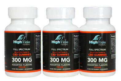 Full Spectrum Multivitamin Gummies 300 MG 3 Pack Bundle