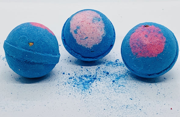 Hydrangea Rose Bath Bomb - High Tide Herbal ™