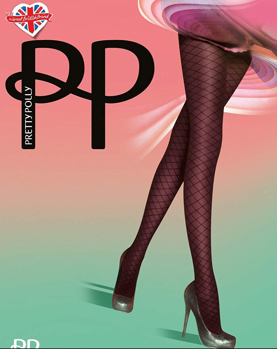 Pretty Polly Mock Fishnet Tights
