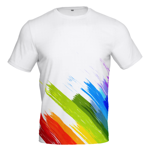 Rainbow - DiDi Short-sleeve Cotton TOP