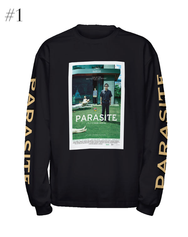 """Parasite"" Poster Long Sleeve (Black)"