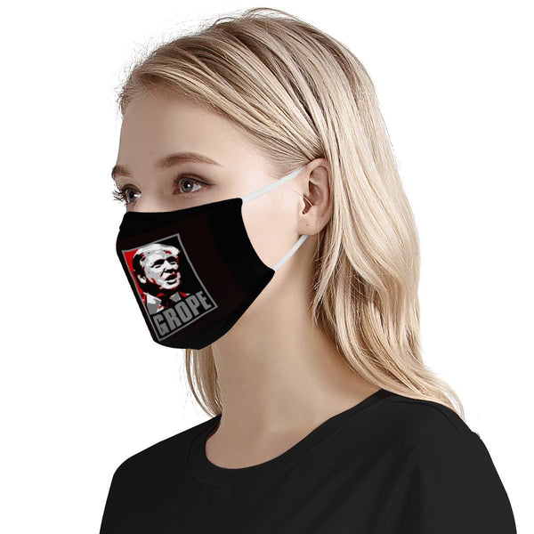 GROPE TRUMP | 100% Soft Pima Cotton Triple Layer Face Mask